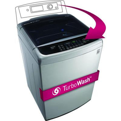 4.9 cu. ft. High-Efficiency Top Load Washer in Graphite Steel, ENERGY STAR