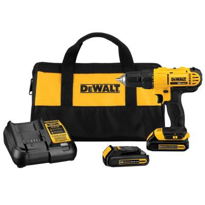 20-Volt Max Lithium-Ion 1/2 in. Cordless Drill/Driver Kit