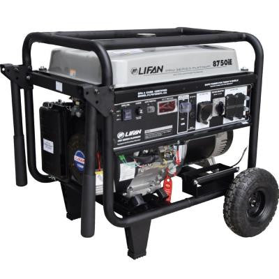 Platinum Series 8,750-Watt 420cc Gasoline Powered Electric Start Clean Power Portable Generator