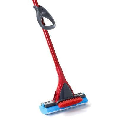 Triple-Action Power Scrub Roller Mop