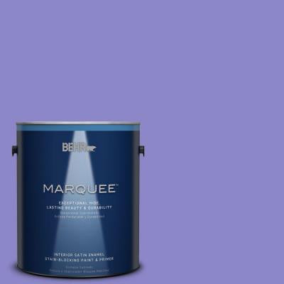 1-gal. #MQ4-29 Brocade Satin Enamel Interior Paint