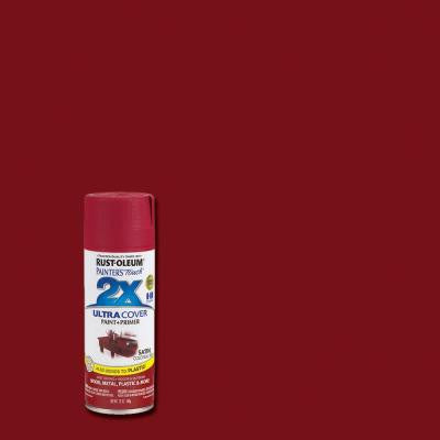 12 oz. Satin Colonial Red General Purpose Spray Paint