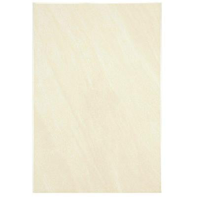 Wave Limestone 8 in. x 12 in. Ceramic Wall Tile (11 sq. ft. / case)