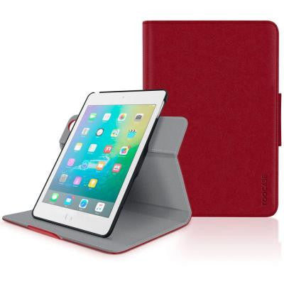 Orb 360 Folio System Case Cover for Apple iPad Mini 4 (2015) - Red