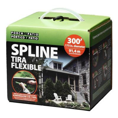 .175 in. x 300 ft. Box Spline Porch and Patio System FSP8604-U