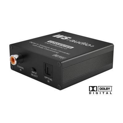 Express Digital to Analogue Audio Converter with Dolby Down Mix