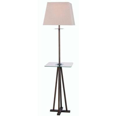 Easley 60 in. H Bronze Heritage Floor Lamp