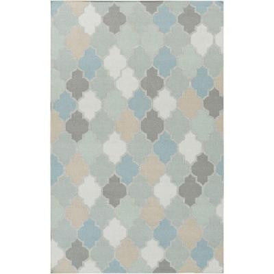 Avesta Sky Blue 5 ft. x 8 ft. Indoor Area Rug
