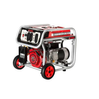 5,000-Watt Gasoline Powered Portable Generator