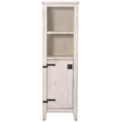 Glenwood 18 in. W Linen Cabinet in Distressed White