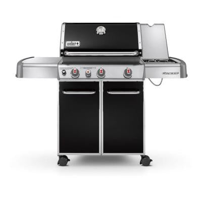 Genesis E-330 3-Burner Propane Gas Grill in Black