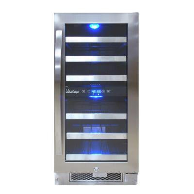 Connoisseur Series 28-Bottle Dual Zone Wine Cooler