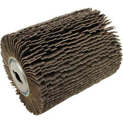 240-Grit Fine Nylon Brush Wheel