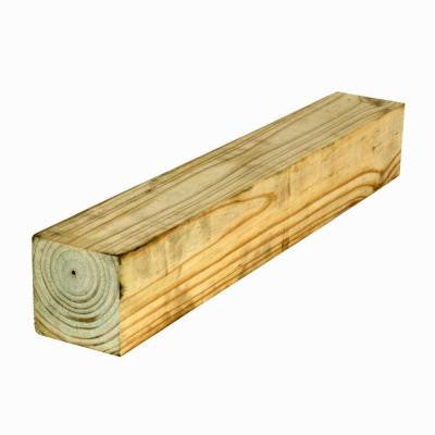 4 in. x 4 in. x 6 ft. #2 Southern Yellow Pine Pressure-Treated Timber