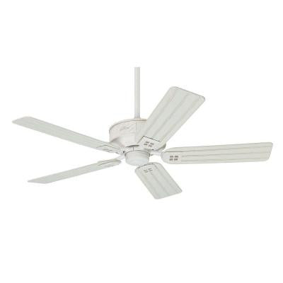 Orchard Park 52 in. Indoor/Outdoor Distressed White Ceiling Fan