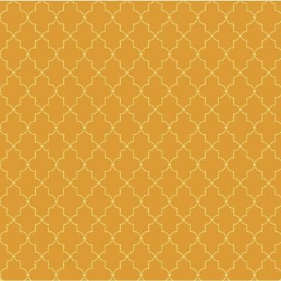 45 in. x 45 in. Iron Lattice Wall and Floor Stencil