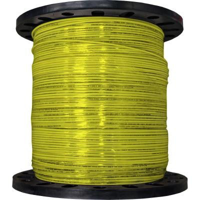 2500 ft. 12/19 Stranded THHN Wire - Yellow