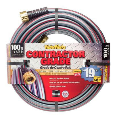 1 in. Dia x 100 ft. Contractor Grade Garden Hose
