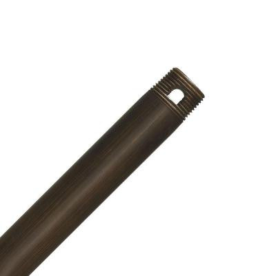 Perma Lock 72 in. Brushed Cocoa Extension Downrod