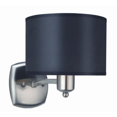 Murray 1-Light Brushed Nickel Sconce