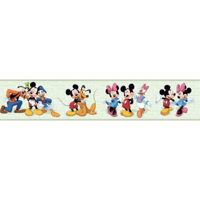 9 in. Mickey and Friends Border
