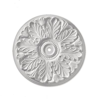 31 in. x 31 in. x 2 in. Polyurethane Windsor Smooth Ceiling Medallion