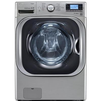 5.2 DOE cu. ft. High-Efficiency Front Load Washer with Steam in Graphite Steel, ENERGY STAR