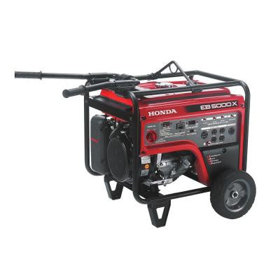 5,000-Watt Gasoline Portable Generator with GFCI Outlet Protection and iGX OHV Commercial Engine