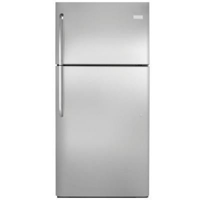 20.5 cu. ft. Top Freezer Refrigerator in Stainless Steel, ENERGY STAR