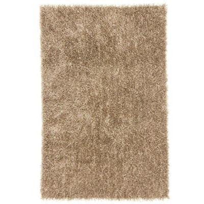 Shine Taupe 2 ft. x 3 ft. Solid Accent Rug
