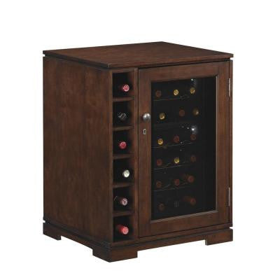 Cabernet Wine Cabinet - 18-Bottle Cooler in Cherry