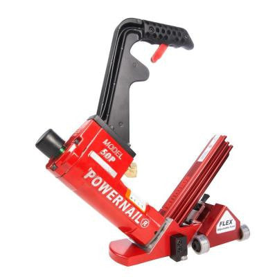Pneumatic 18-Gauge Flex Power Roller Hardwood Flooring Cleat Nailer
