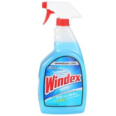 Commercial 32 oz. Original Glass Cleaner