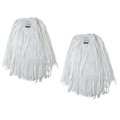 #24, 4-Ply Cotton Mop Head with Cut-Ends (2-Pack)