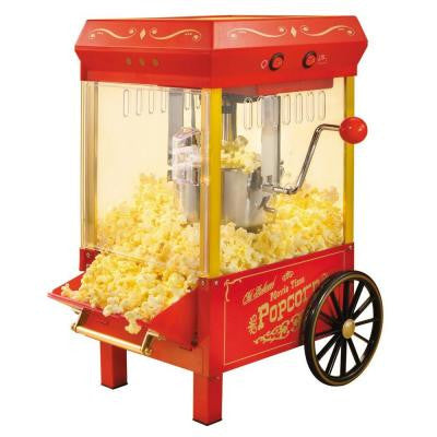 Old-Fashioned Kettle Popcorn Maker