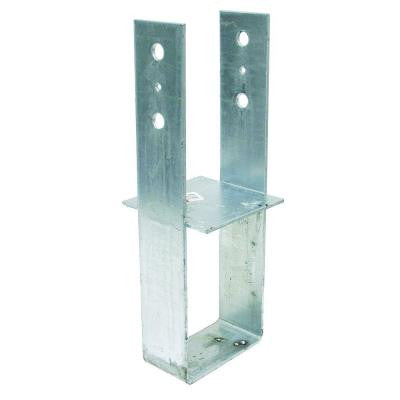 6 in. x 6 in. 7-Gauge Hot-Dip Galvanized Column Base