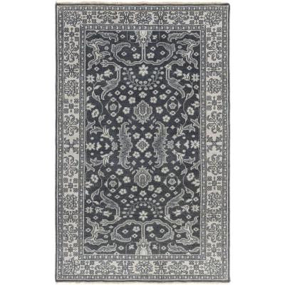 Jito Slate 5 ft. 6 in. x 8 ft. 6 in. Indoor Area Rug