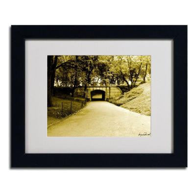 11 in. x 14 in. Passage II Matted Framed Art
