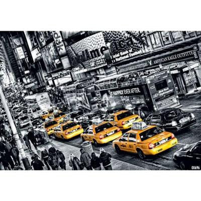 45 in. x 0.25 in. Cabs Queue Wall Mural
