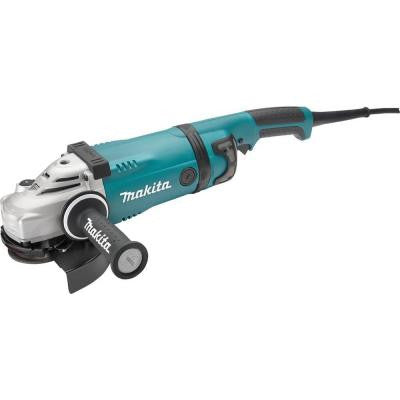 15 Amp 7 in. Angle Grinder with Lock-Off and No Lock-On Switch
