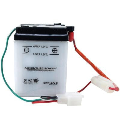 Conventional Wet Pack 6-Volt 4 Ah Capacity V Terminal Battery