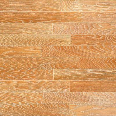 Brushed Oak Canvas 3/4 in. Thick x 4 in. Wide x Random Length Solid Hardwood Flooring (21 sq. ft. / case)