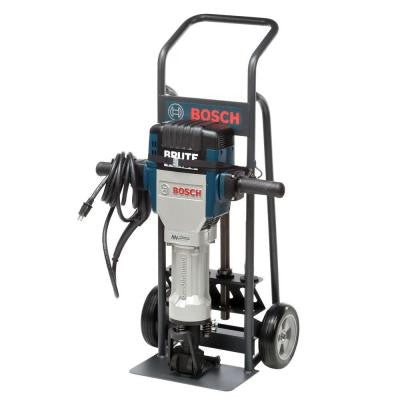 15 Amp Brute Turbo Breaker Hammer with Deluxe Cart, 2 Star Point and 2 Flat Chisels