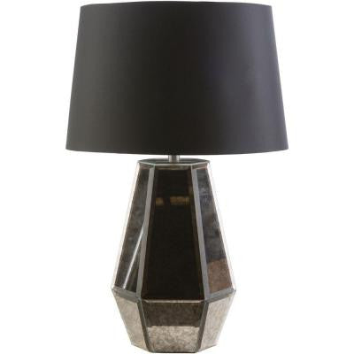 Ruska 23.25 in. Pewter Indoor Table Lamp