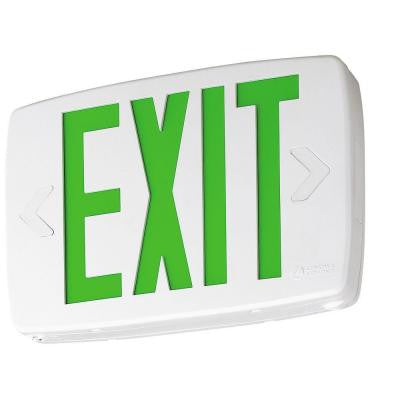 Quantum Thermoplastic LED Emergency Exit Sign