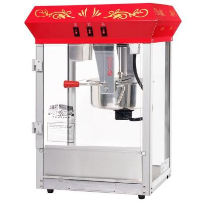 All-Star GNP-850 8 oz. Red Popcorn Machine