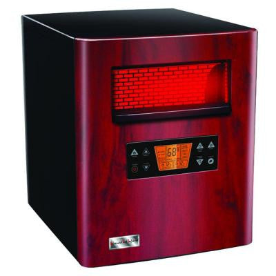 Heat King Radiant Infrared Quartz Portable Heater and Air Purifier