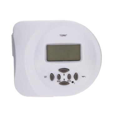 15-Amp SunSet Astronomical 2 Grounded Outlets Digital Security Timer