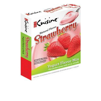 Yogurt Natural Flavor Strawberry Mix (9-Pack)