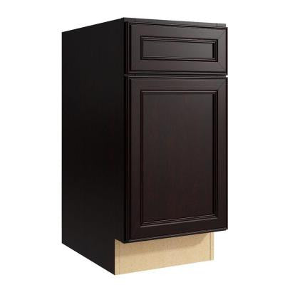 Boden 15 in. W x 31 in. H Vanity Cabinet Only in Coffee